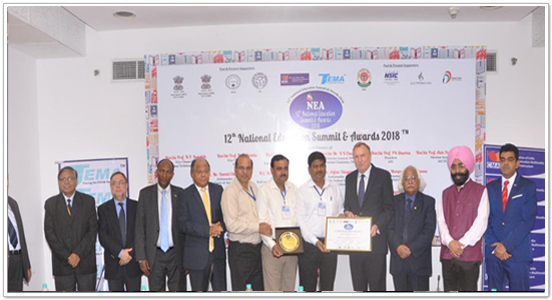 BEST INSTITUTE FOR OUTSTANDING PLACEMENT RECORD IN NCR